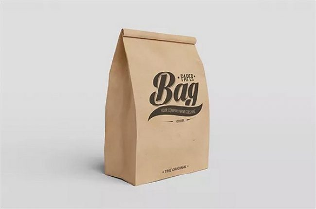 Bundle of Paper Bag Mockups