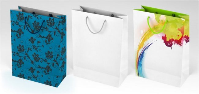 Gift bag mock-up