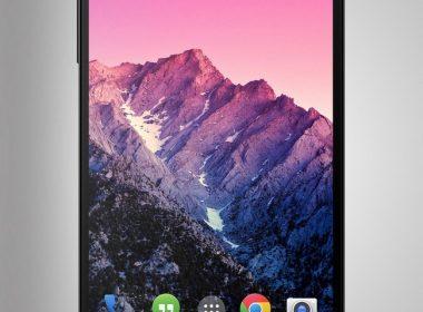 Google Nexus 5 PSD