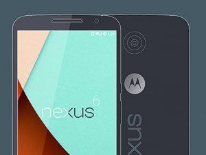 Google Nexus 6 Mock-up
