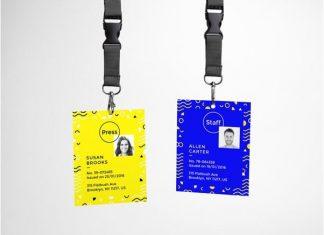 ID Card PSD MockUp