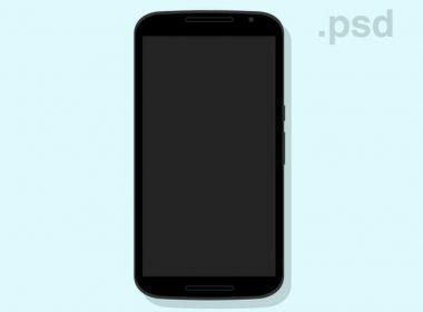 Nexus 6 Flat Mockup - Freebie
