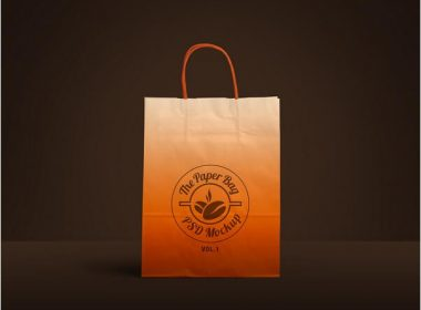 Paper Bag PSD Mockup Vol 1