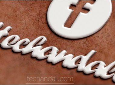 Pearl White Logo Mockup