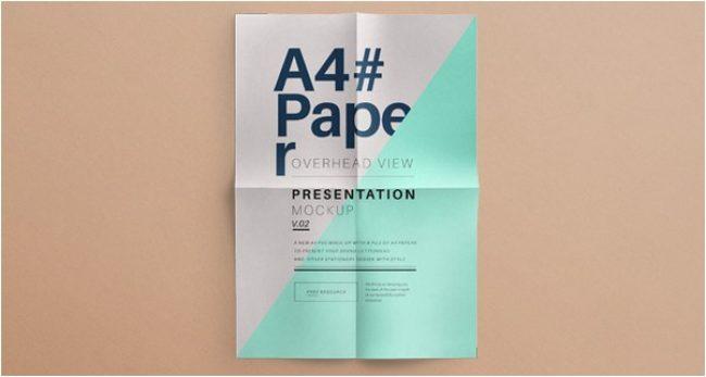 Psd A4 Overhead Paper Mock-Up Vol2