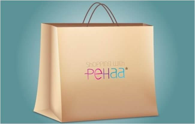 SHOPPING BAG PAPER MADE