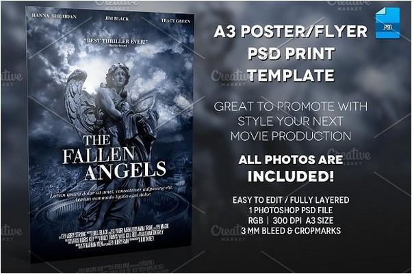 20 best movie poster mockups for design presentation