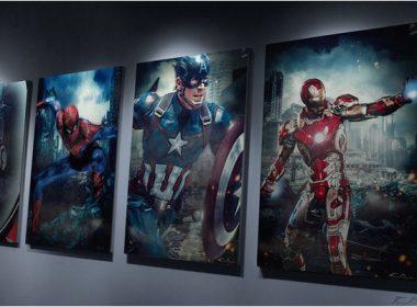 Captain America Civil War Promo Posters Mockup
