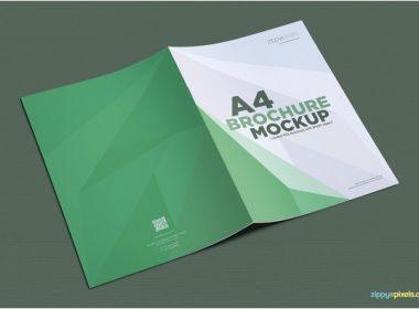 Gorgeous Free A4 Brochure Mockup