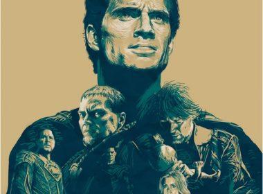 Man of Steel mockup movie poster