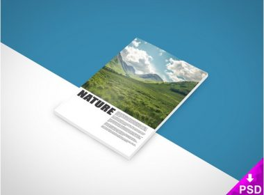 Nature Book Mock-up