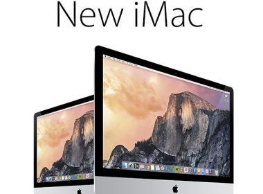 New iMac 3 4 views Vector PSD MockUp