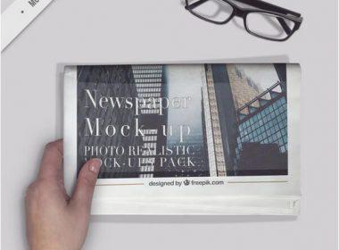 21+ Best Newspaper Ad Mockups PSD Templates