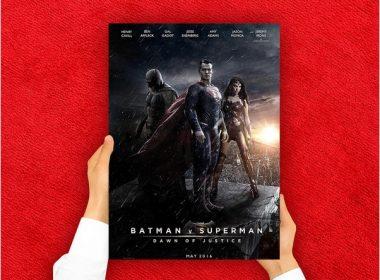 Red Carpet Movies Poster Mockup