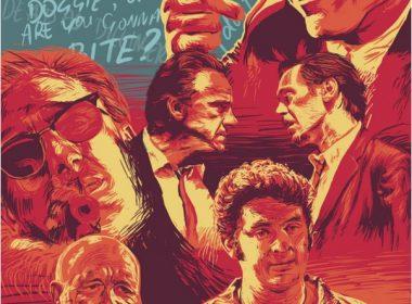 Reservoir Dogs mockup movie poster