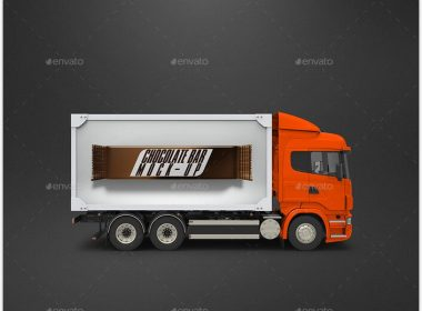 Truck Wrap Mock-Up