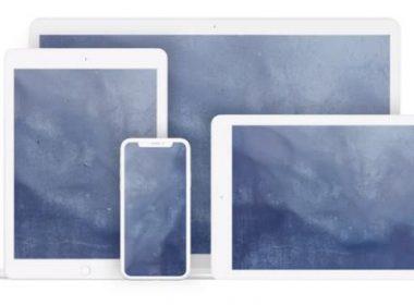 White iPad Mockups