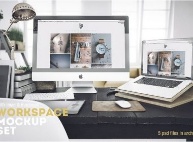 Workspace Mockup Set 4