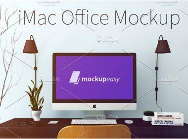 30+ Handy iMac Mockups PSD Templates