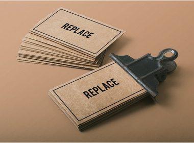 2 Business Card Mock-ups