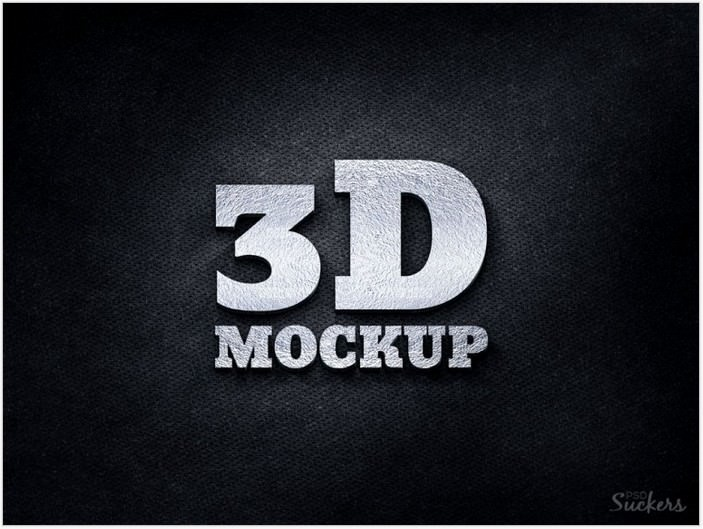 3d Silver Logo