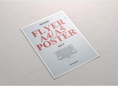 A4 A5 Poster Flyer Mockup vol.3