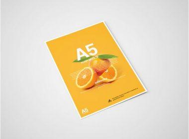 A5 Flyer Mockup
