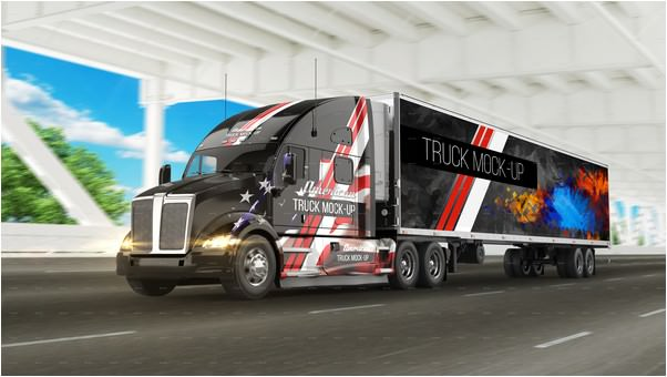 American Truck Mock-Up