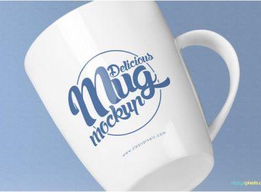 Awesome Coffee Mug Mockup PSD's