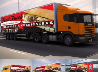 Billboard & Truck Mock-up