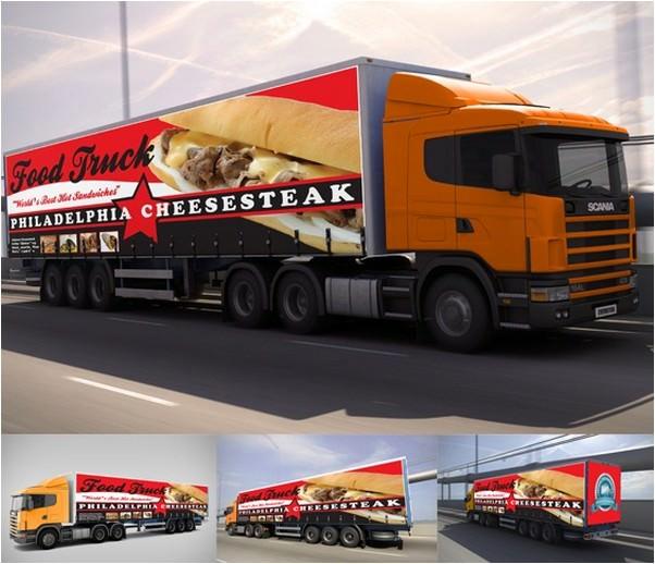 Billboard & Truck Mock-up