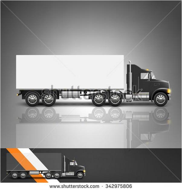 Blank Truck mockup