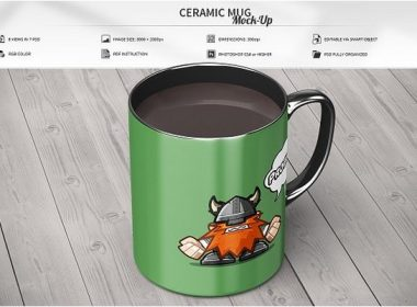 Ceramic Mug Mock-Up