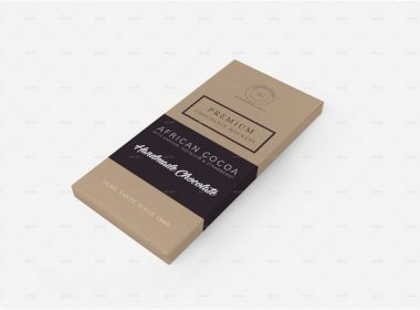 Chocolate Packaging Mockups