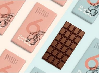 Chocolate bar mockup # 2