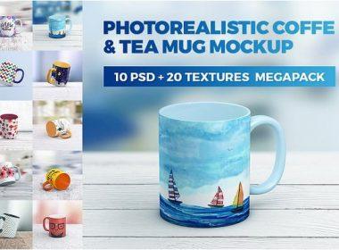 Coffe Mug MockUp MegaPack