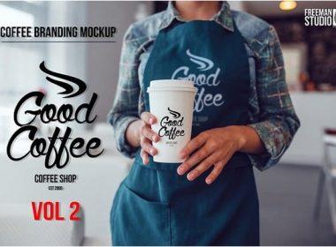 Coffee Branding Mock-up Vol 2