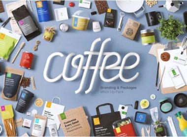 Coffee Branding & Packaging Mockup Pack