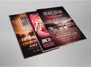 Flyer and Poster Mockup 01