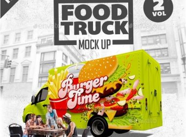 Food Truck Mock Up Kit Vol. 2