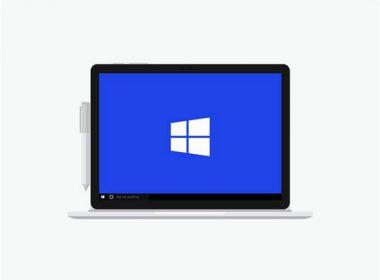 Microsoft Surface Book Mockup