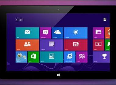 Microsoft Surface RT UI PSD