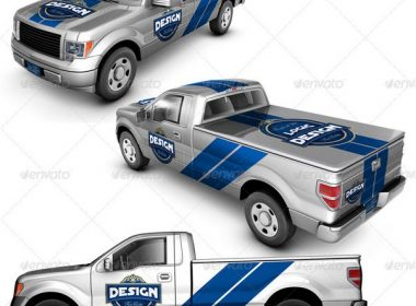 Pickup Truck Mock Up