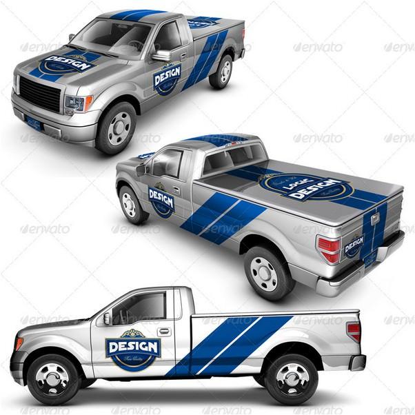 Pickup Truck Mock Up