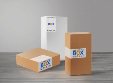 35+ Stunning Box Mockups For Your Packaging