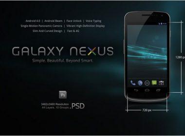 Samsung Galaxy Nexus PSD