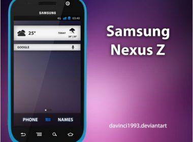 Samsung Nexus Z PSD