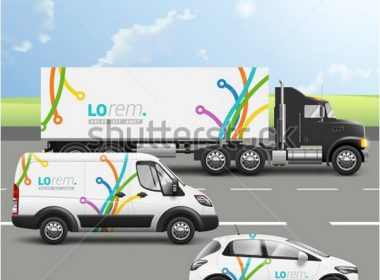 Transport Advertising Design