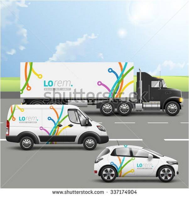 Transport Advertising Design
