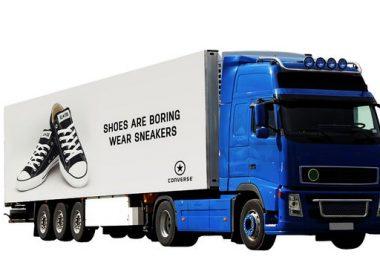 Truck Mockup PSD